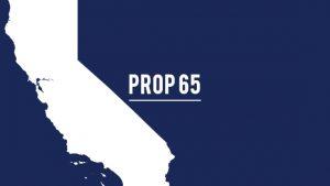 California Prop 65