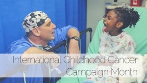 international childhood cancer campaign month
