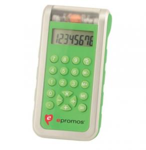 promotional solar powered calculator