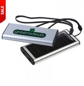 custom solar powered charger