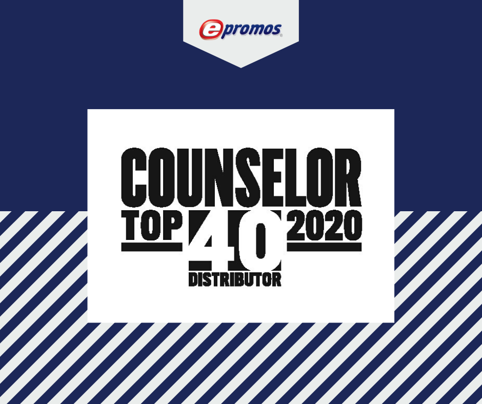 ePromos Ranks on Counselor's Top 40 Distributor List of 2020