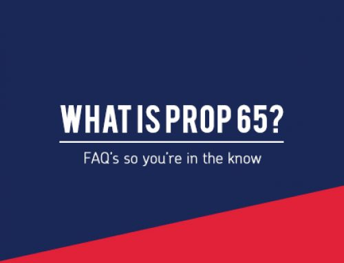Promotional Products with Prop 65 Warnings