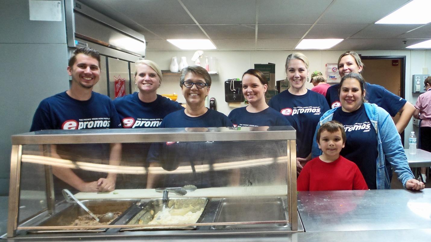 ePromos Volunteers at St. Cloud Salvation Army | Press Release
