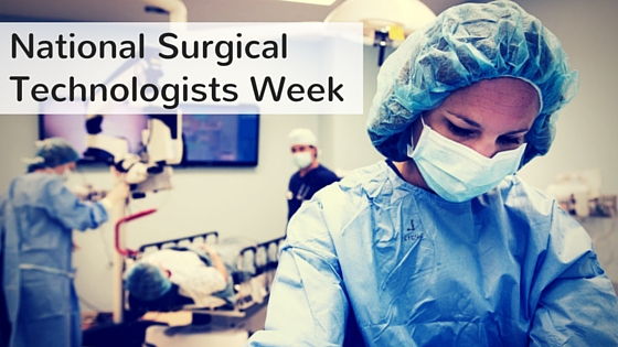 national surgical tech week