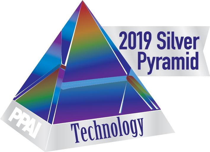 2019 PPAI Silver Pyramid Award