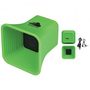 customized green speaker