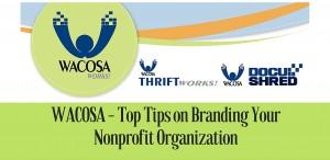 wacosa - tips on branding for nonprofits