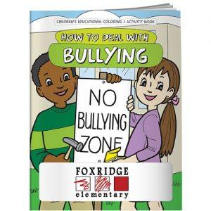 anti-bullying promo coloring book