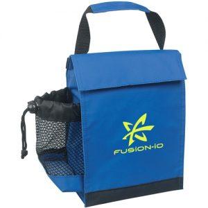 blue custom lunchbox