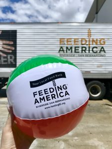 Feeding America Beach Ball