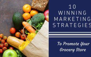 grocery marketing strategies