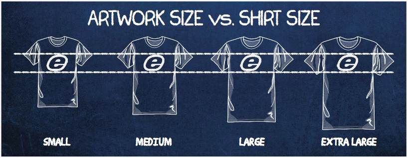 How To Determine The Right Size For A Logo On Custom T Shirts