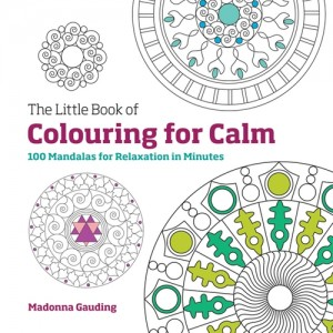 colouring for calm - branded coloring book