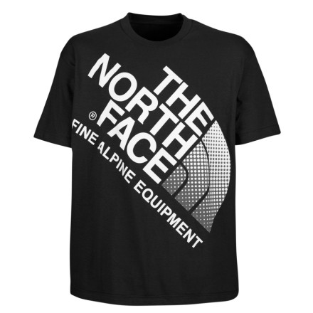 the north face full logo t-shirt