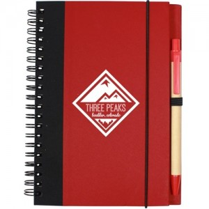red promotional journal