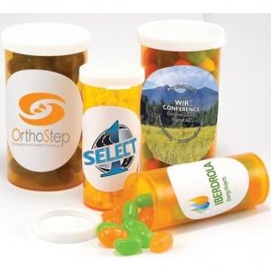 candy pill bottles