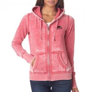 promotional pink zip-ups