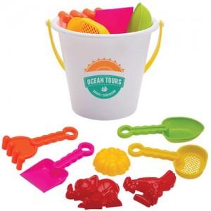 branded beach toys