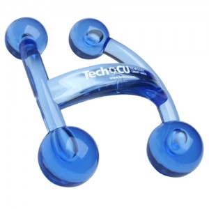 branded back massager
