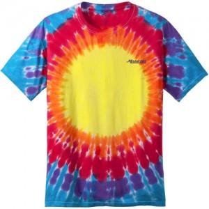 logo tie dye tshirt