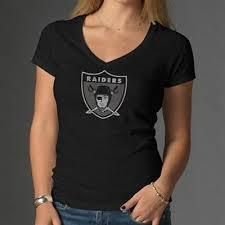 women's raiders logo t-shirt