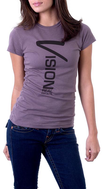 women's tall and narrow imprint custom t-shirt