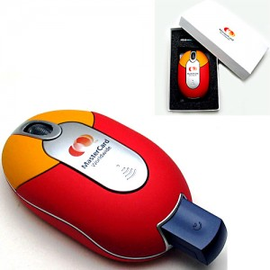 Wireless Promotional Mouse w/ USB Receiver