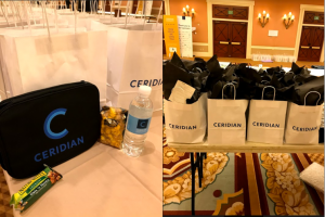 Ceridian Insights Welcome Bag